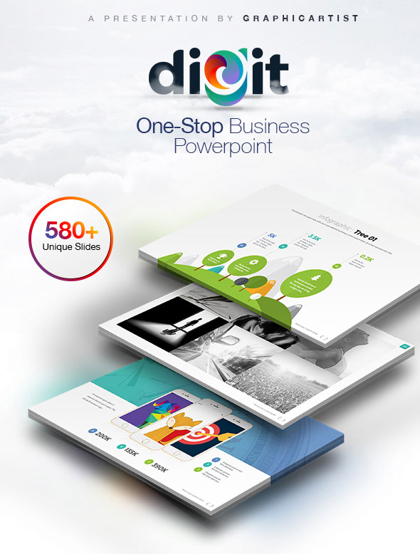 Digit | One-Stop Business Powerpoint