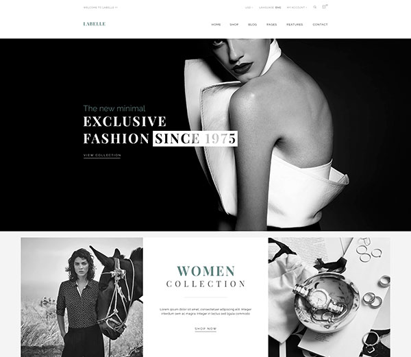 LaBelle - Fashion PSD Templates