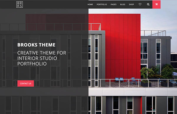 Brooks WP – Creative Multi-Purpose WordPress Theme