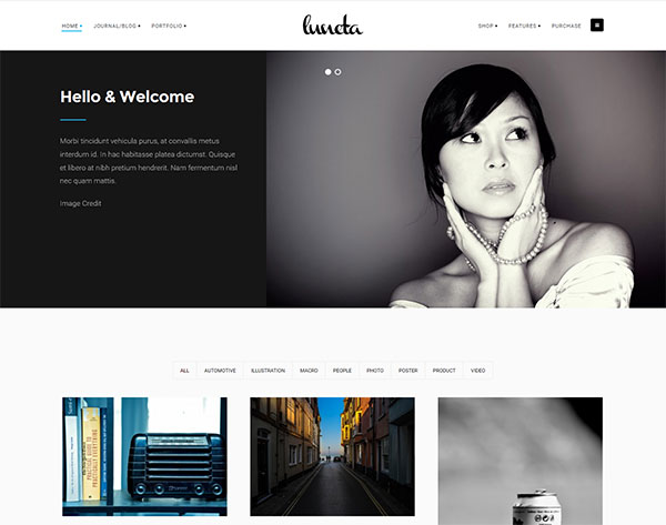 Luneta - Creative and Elegant Portfolio Theme