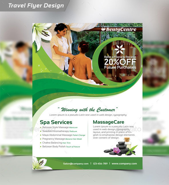 Beauty Salon Spa - Flyer