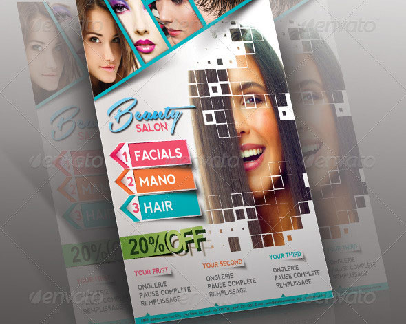 Beauty Salon Poster/flyer & Magzine Cover