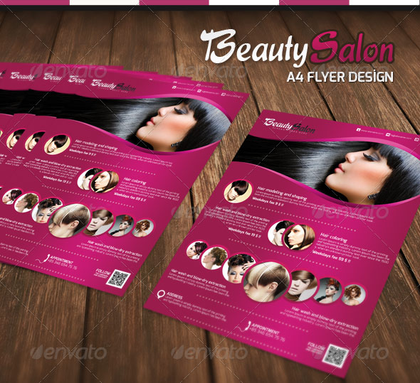 Beauty Salon - A4 Flyer