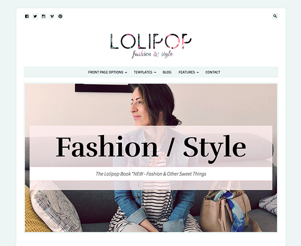 Lolipop - Fashion WordPress Theme