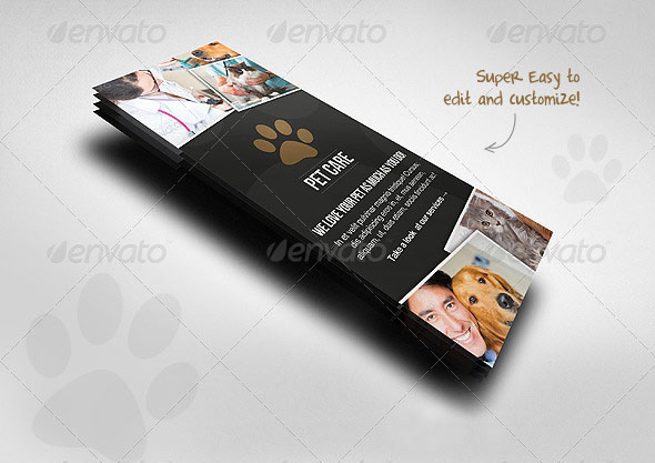Pet Care Rack Card