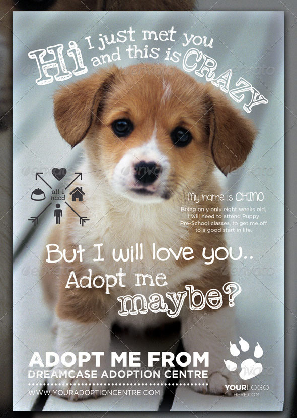 Animals - Adopt Me Flyer 2