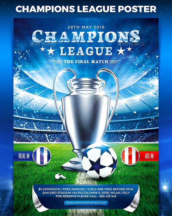 Football Champions League Poster vol.2