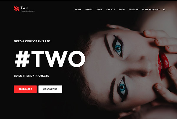 NumberTwo - Responsive Creative Multipurpose Joomla Template