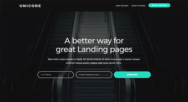 Unicore - Mobirise Builder with 20 HTML Bootstrap Landing Page Templates