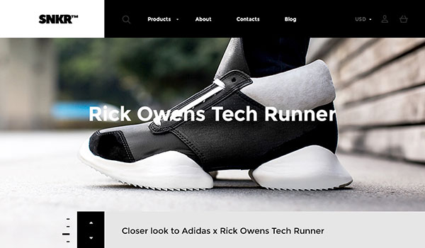 SNKR - Sneakers Responsive Shopify Theme