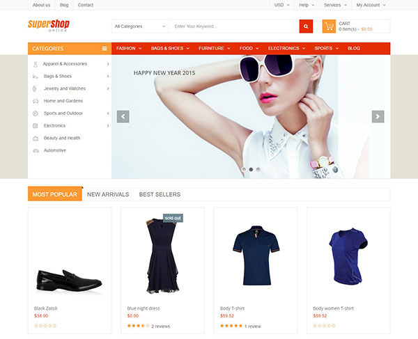 SuperShop - Multipurpose Responsive Shopify Theme