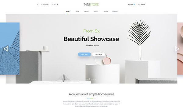 Ministore Multiple Shopify Theme