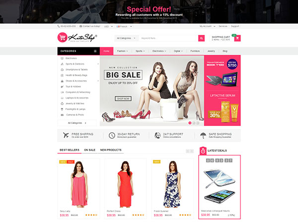 KuteShop - Multipurpose Responsive Shopify Theme
