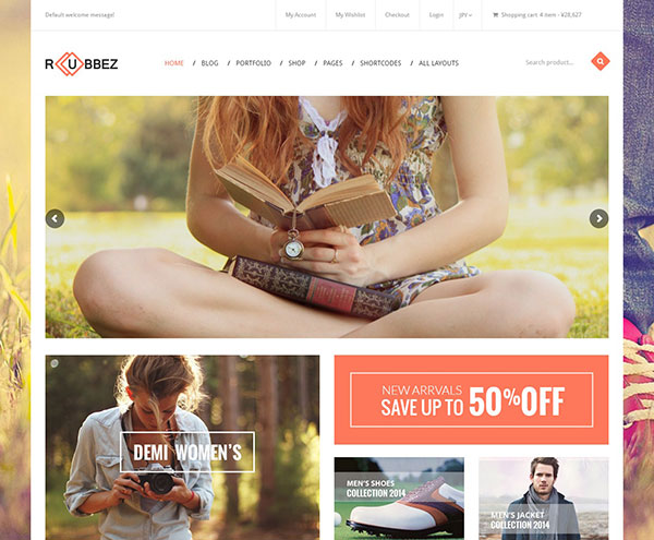 Rubbez - Responsive Shopify Theme