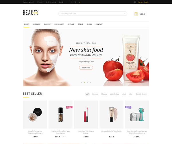 Beauty Shopify Theme