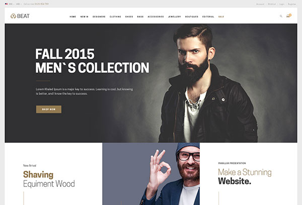 Beat - Fashion Shopify Theme