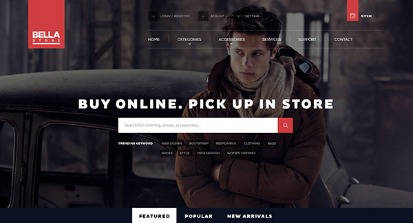 Bella Shopify Theme