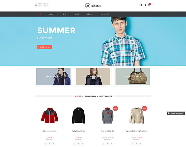 Krstore - Shopify Theme