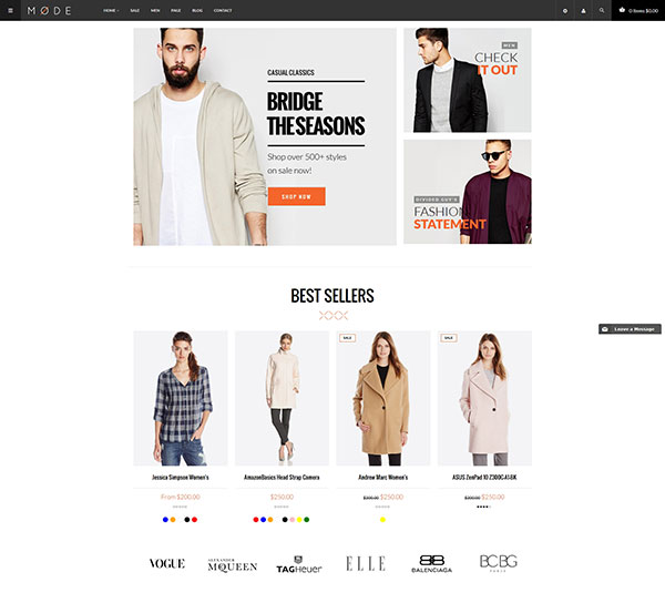 MODE - Great Fashion Shopify Themes
