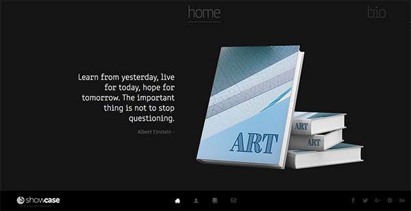 Showcase - Muse Portfolio Template - Responsive