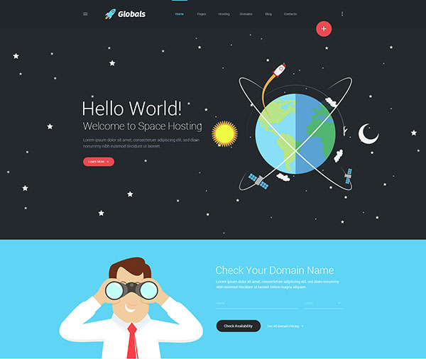Globals - Material & Universal Muse Template