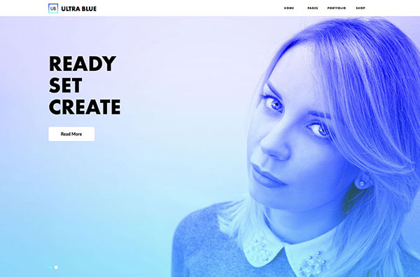 Ultra Blue - Responsive Multipurpose Muse Template