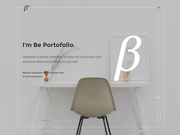 BePortfolio - Behance Projects WordPress Theme