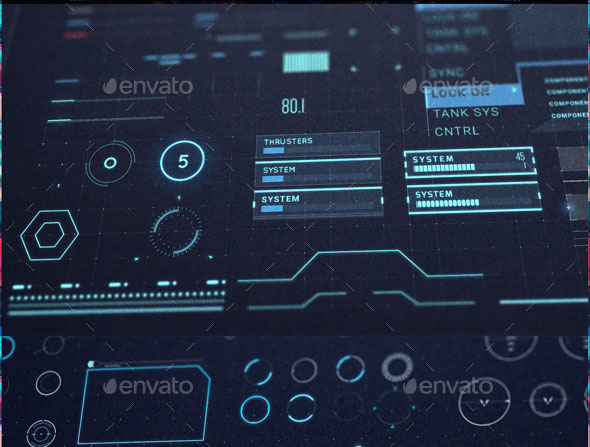 Neo Ghost - Sci Fi UI / HUD Kit