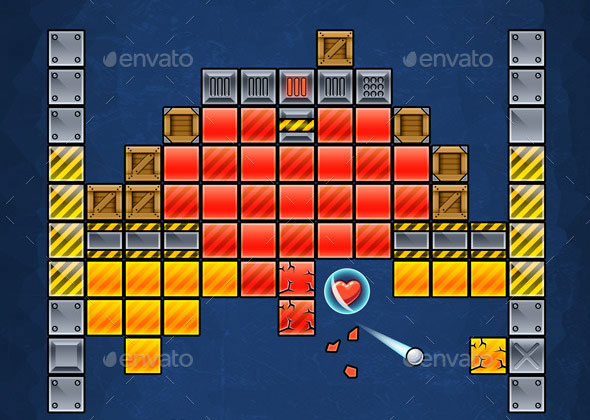Brick Breaking Game