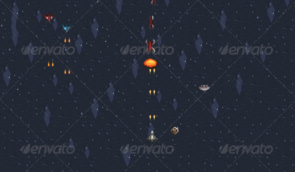 Space Shooter Sprites