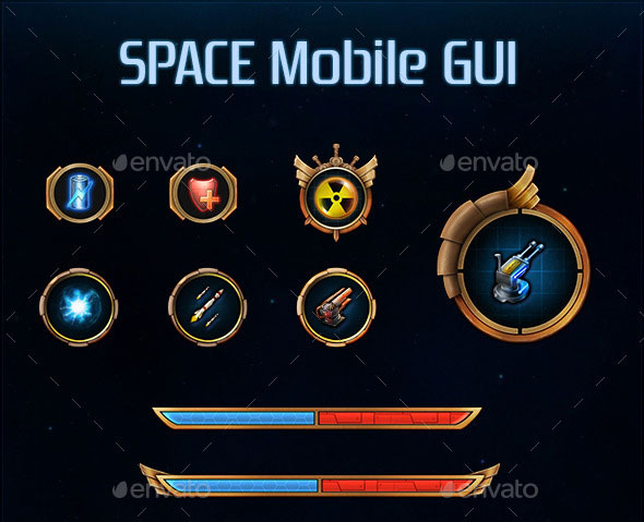 Space Mobile GUI
