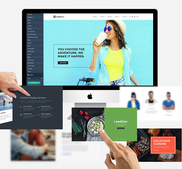 LeadGen - Multipurpose Marketing Landing Page Pack with Page Builder