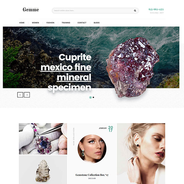 Gemme Magento 2 Pages Builder Template
