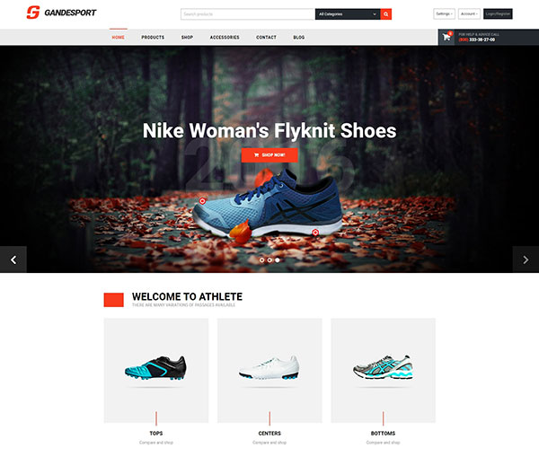 Grandesport - High Conversion Multipurpose Magento 2 Theme