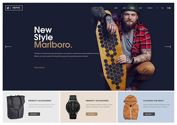 Marlboro - WooCommerce Responsive Fashion Theme