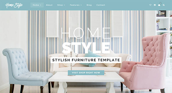 HomeStyle | Responsive Furniture Interior WordPress Theme