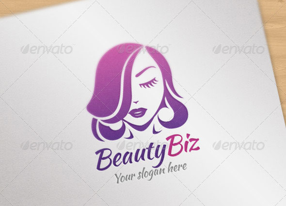 Beauty Biz Logo Template