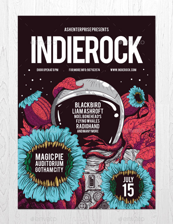 Indie Rock Vol. 4 Flyer