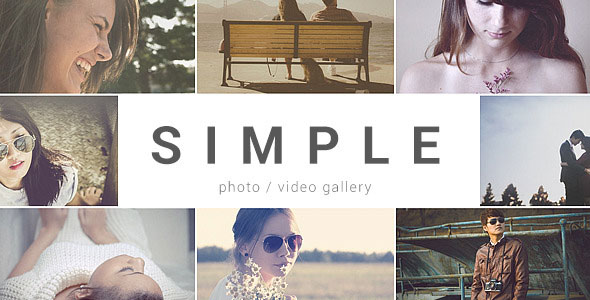 SIMPLE - Parallax Photo Gallery