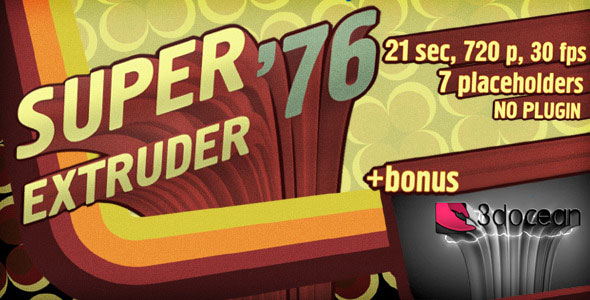 Super Extruder 76 Titles with Placeholders +Bonus