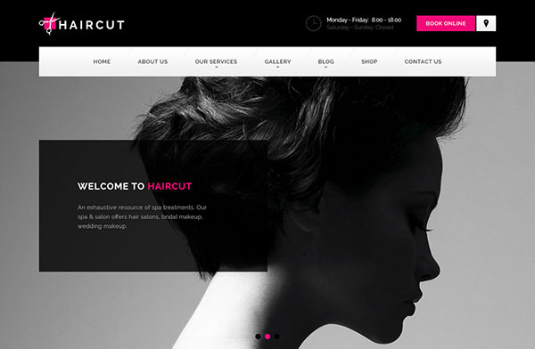 Haircut - Barbershop, Spa, Beauty, Manicure WP