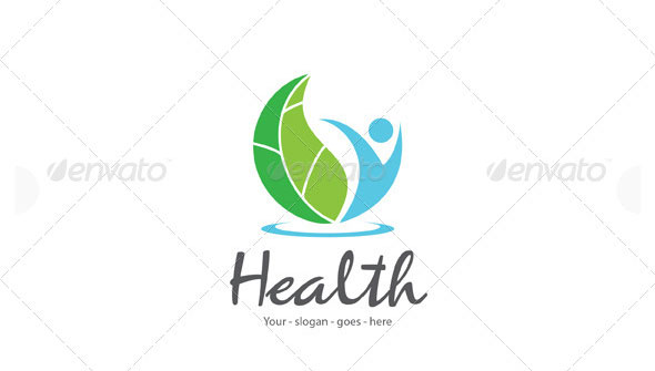 Natural Health Logo Template