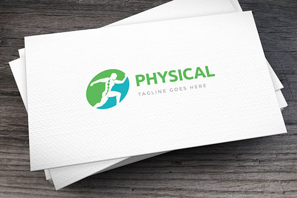 Sport Physical Rehab Logo Template
