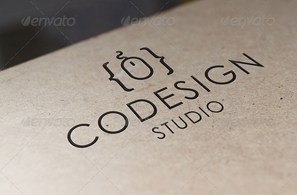 Code Design Logo Template