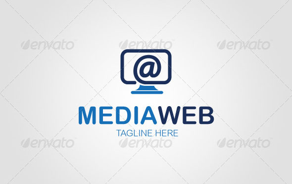 Media Web Logo Template