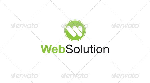 Web Solution Logo Template