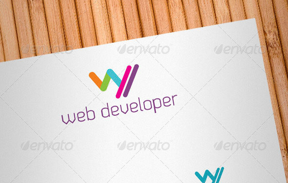 Web Developer Logo Template