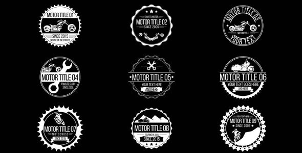 Badge Titles - Automotive, Motorcycle & Bicycle