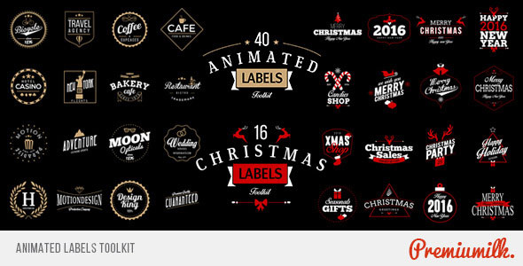 Animated Labels Toolkit