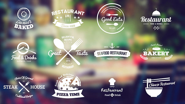 Restaurant And Food Shop Badges